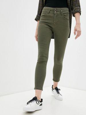 Повседневные зеленые брюки Adl