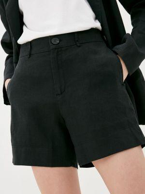 Повседневные черные шорты Twist & Tango