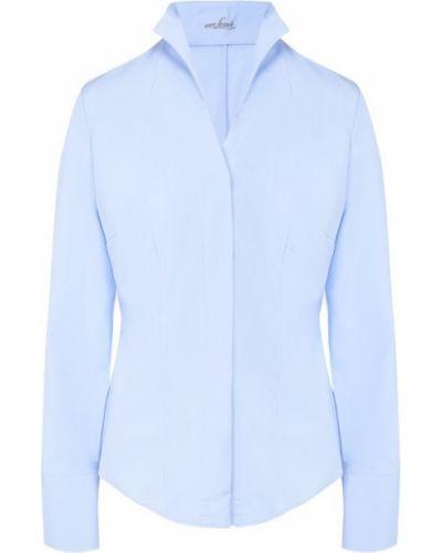 Хлопковая рубашка - голубая Van Laack