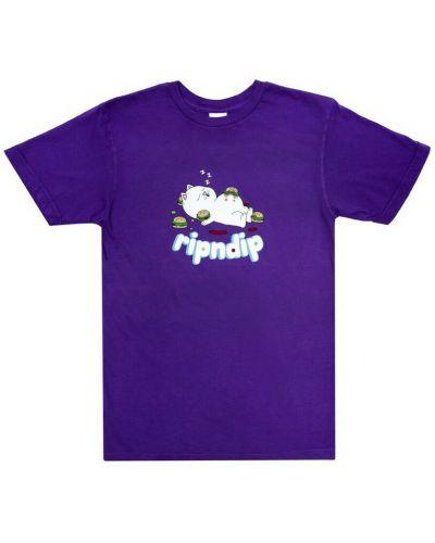 Fioletowa t-shirt Ripndip