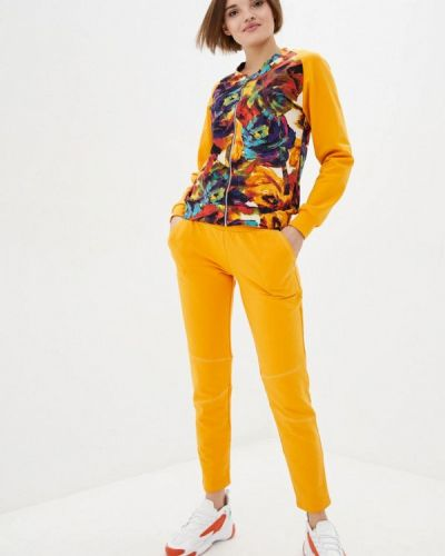 Костюмный желтый спортивный костюм Ora