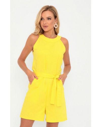 Комбинезон с шортами - желтый Magnet