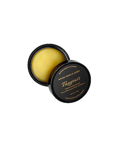 Желтый базовый кожаный бальзам для тела свободного кроя In Fiore