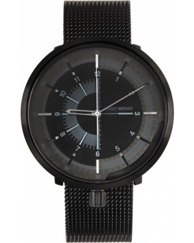 Biały zegarek srebrny Issey Miyake Men