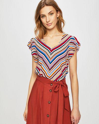 Блузка с коротким рукавом из вискозы прямая Medicine