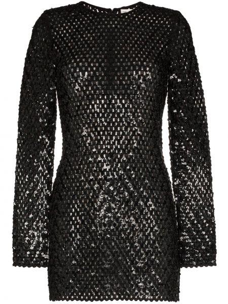 Платье мини на молнии французский Saint Laurent