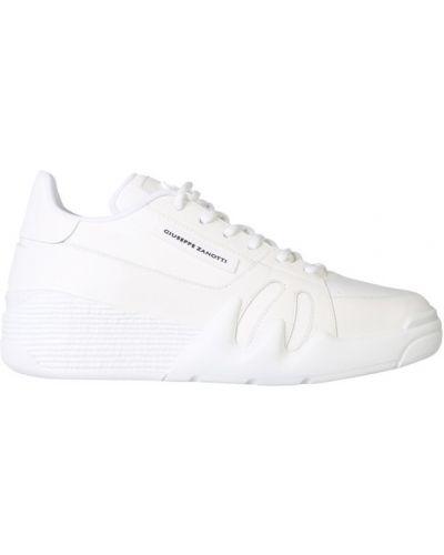 Sneakersy niskie - białe Giuseppe Zanotti