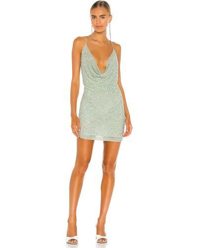 Платье из вискозы - мятное Retrofete