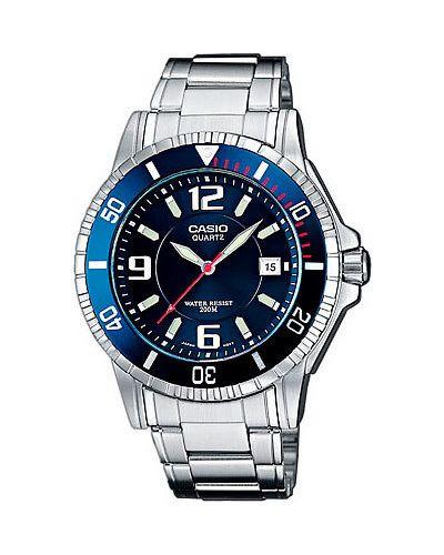 Часы водонепроницаемые с подсветкой стрелочные Casio