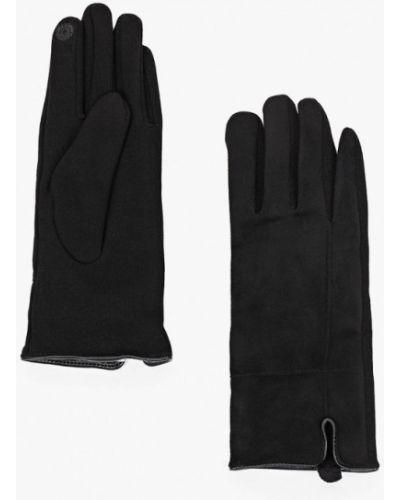 Текстильные перчатки - черные Luhta
