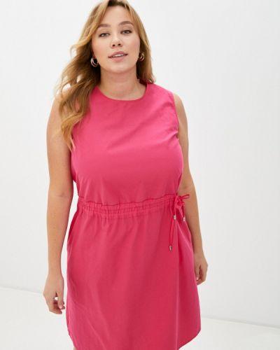 Прямое розовое платье Gerry Weber