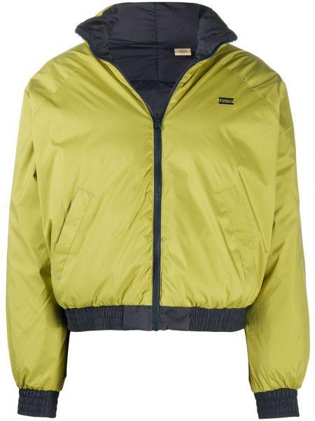Зеленая куртка с заплатками Levi's®