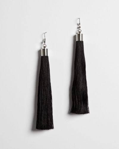 Черные серьги Answear