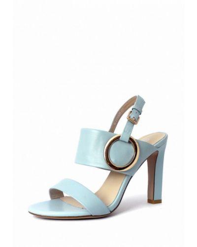 Голубые босоножки на каблуке Blizzarini