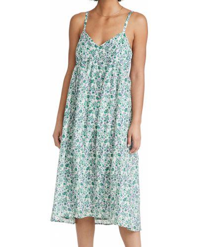 Шелковое платье с подкладкой в цветочный принт Xírena