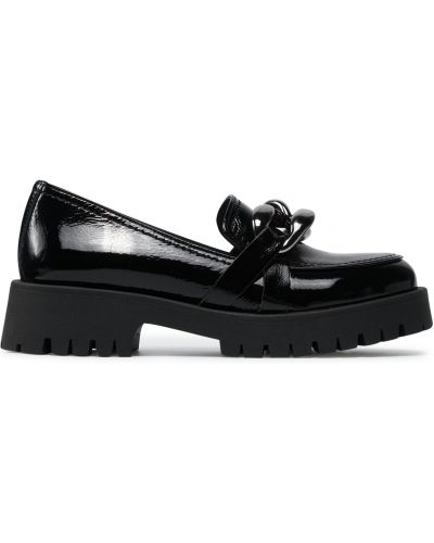 Кожаные туфли - черные Nessi