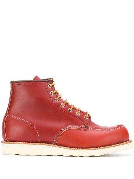 Półbuty skórzane - pomarańczowe Red Wing Shoes