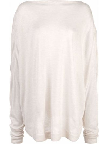 Prążkowany z kaszmiru sweter Dusan