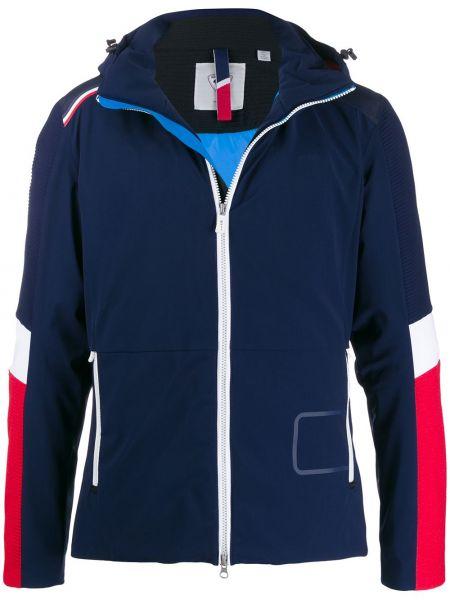 Синяя куртка с капюшоном на молнии с карманами Rossignol