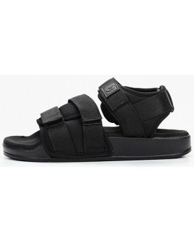 Текстильные сандалии - черные Affex