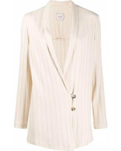 Длинная куртка на пуговицах классическая Alysi