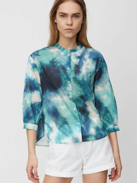Повседневная синяя блузка Marc O'polo Denim