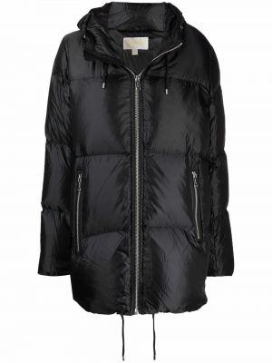 Черное пальто из полиэстера Michael Michael Kors