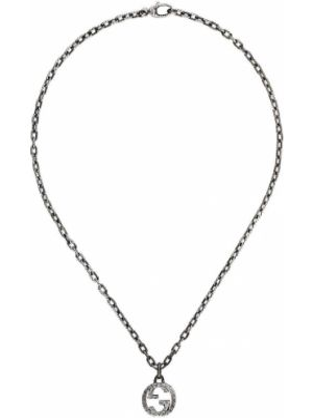 Naszyjnik ze srebra srebro Gucci