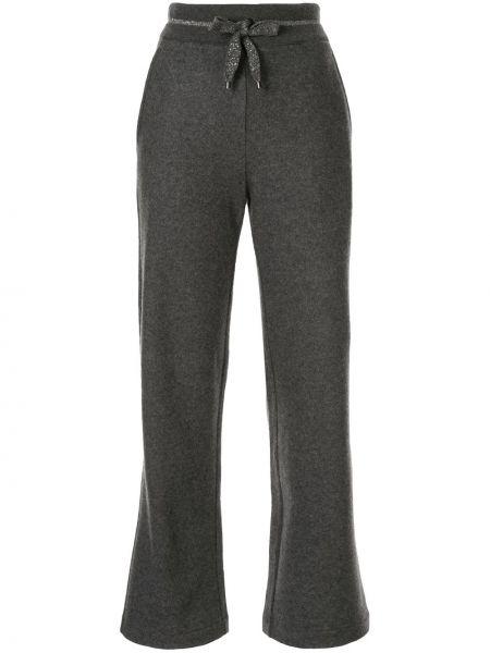Спортивные брюки расклешенные с карманами Lorena Antoniazzi
