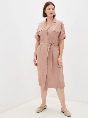 Платье рубашка - розовое Balsako