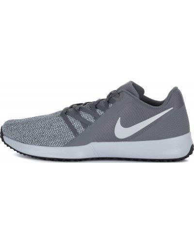 Серые кроссовки на шнуровке Nike