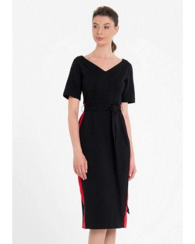 Повседневное черное повседневное платье Lo