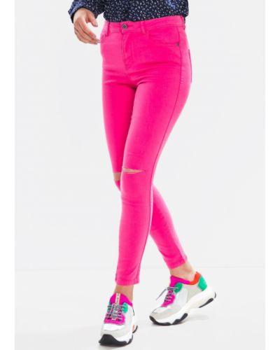 Джинсы - розовые Jennyfer