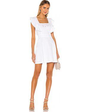 Белое открытое платье мини с открытой спиной на молнии Bcbgeneration