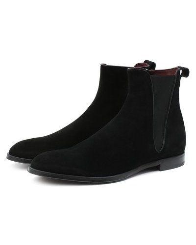 Черные кожаные ботинки челси с подкладкой Dolce & Gabbana