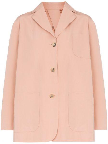 Нейлоновый розовый пиджак Plan C