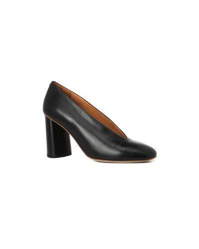 Черные туфли Halmanera