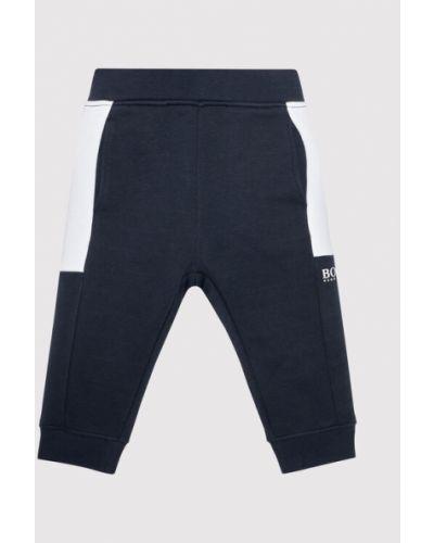Spodnie dresowe - granatowe Boss