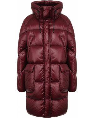Куртка бордовый красная Woolrich