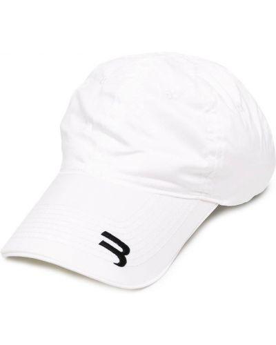 Baseball biały czapka z daszkiem z haftem Balenciaga