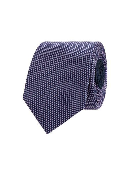 Fioletowy jedwab krawat wąskie cięcie wąskie cięcie Jake*s