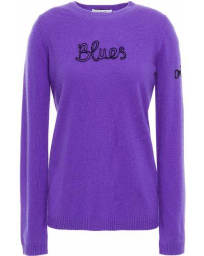 Кашемировый свитер - фиолетовый Bella Freud