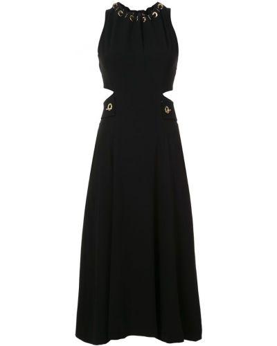 Платье с поясом на шнуровке с вырезом Derek Lam 10 Crosby