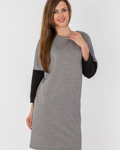 Повседневное платье осеннее черное S&a Style