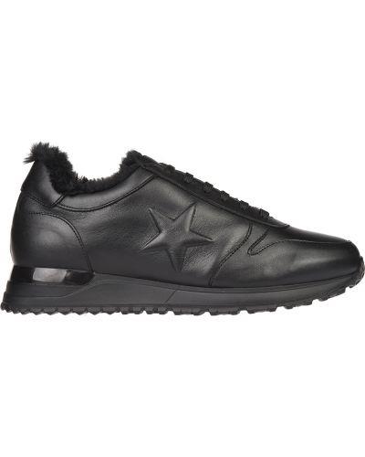 Черные кроссовки Gianni Famoso