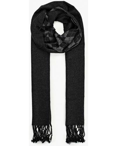 Черный шарф Fabretti