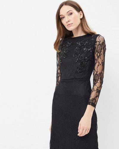 Черное платье весеннее Qed London
