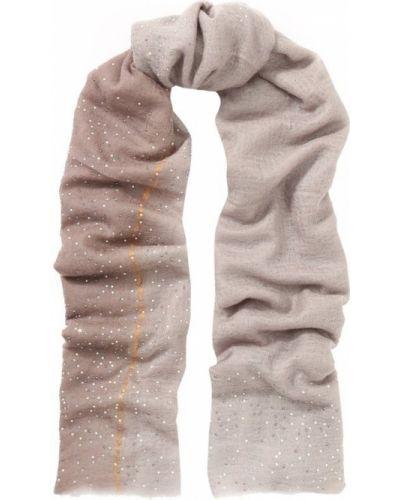 Коричневый платок со стразами Vintage Shades