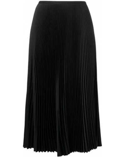 Плиссированная юбка миди Blanca