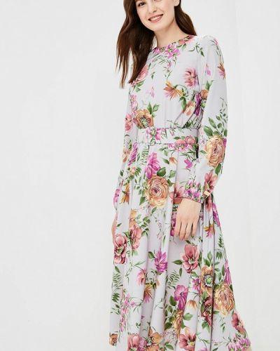 Платье серое Royal Elegance